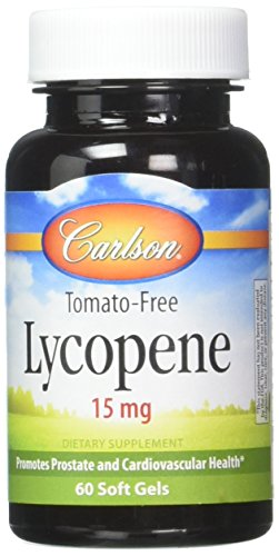 Carlson Labs Lycopene 15mg Softgels, 60 Count