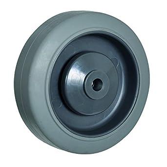 Bil bzh200wstprbjm12 serie wstpr rueda, elástico TPU de goma en polipropileno, 200 mm de