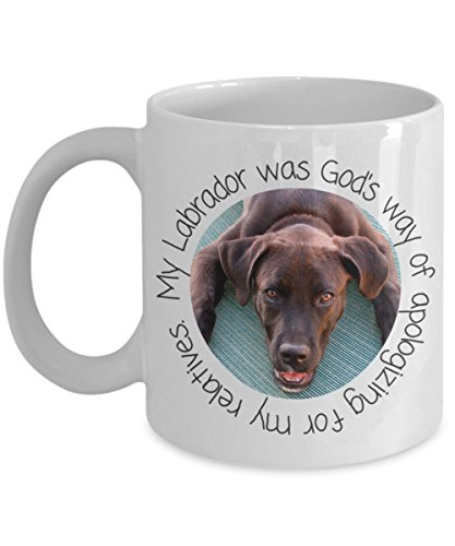Used, Chocolate Labrador Retriever Gift Mug - My Labrador for sale  Delivered anywhere in Canada