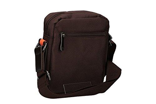 R hombre bandolera Bandolera AF36 marrón bolsa tablet porta RONCATO OTrOxwU