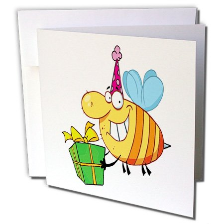3dRose Greeting Cards, 6 x 6 Inches,