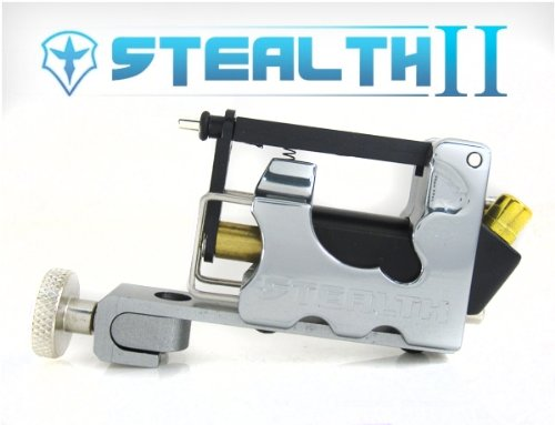 - NEW STEALTH 2.0 SET Liner & Shader Tattoo Machine (GREY)