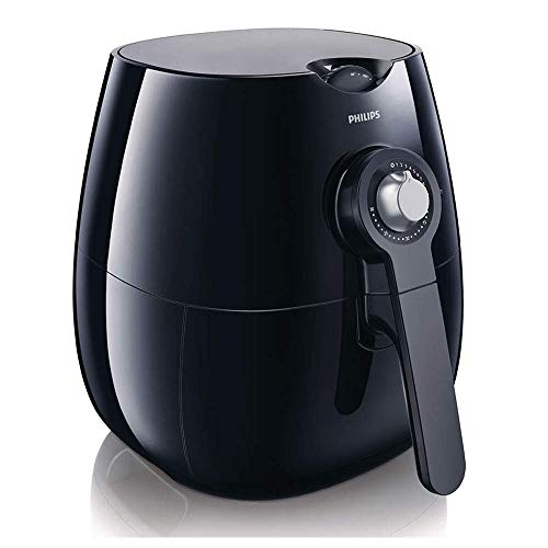 Philips Air Fryer with Rapid Air Technology for Healthy Cooking, Baking and Grilling, Plastic,1425 W, Black, HD9220/20
