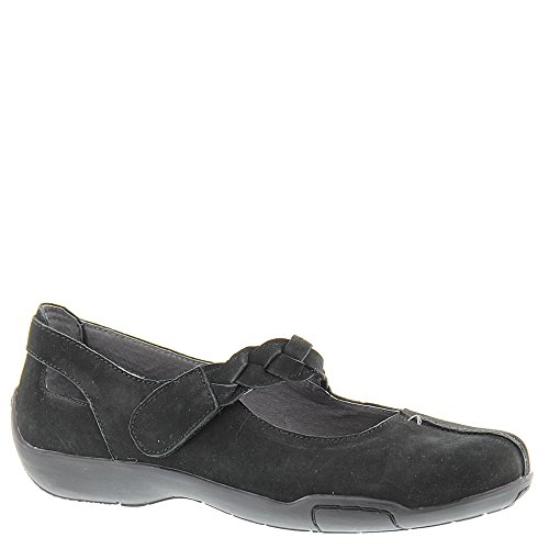 Ros Hommerson Women's Camry Fashion Mary Janes, Black, Leather, Foam, Rubber, 10 W (Drew Leather Mary Janes)