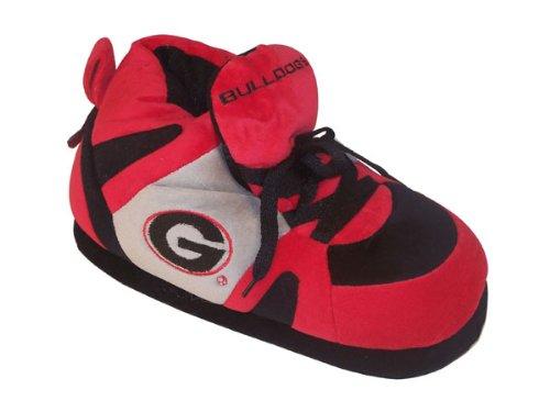 Happy Feet Men's and Womens NCAA College Sneaker Slippers Georgia Bulldogs XwJiQRYbKb