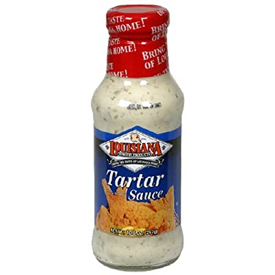 Louisiana Tarter Sauce, 10.5-Ounce Bottles (Pack of 12)