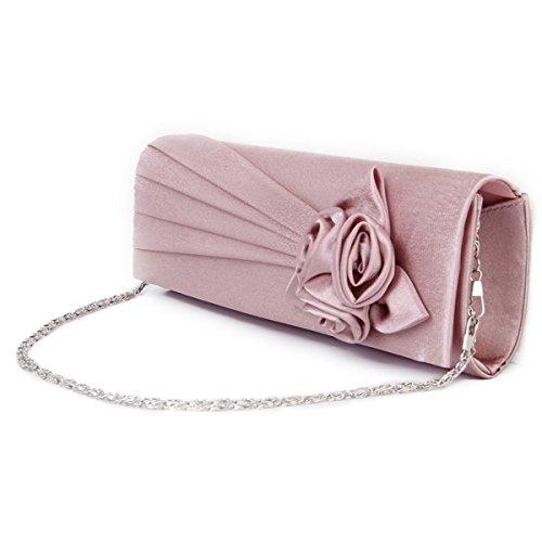 OULII Frauen Lady Mini Handtasche Tasche Schultertasche (violett)