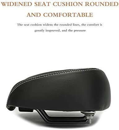 FUYUAN No Nose Bike Saddle,Widened Comfort Seat Bicycle Seat
