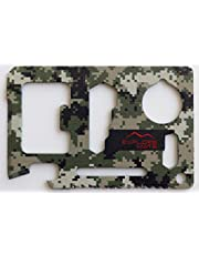 Explore Mate 11 in 1 Survival Card with a Beer Opener - Camouflage