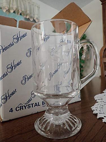 (8 - Princess House Heritage Irish Mugs)