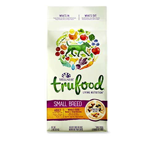 Wellness TruFood Baked Blends Natural Grain Free Dry Raw Small Breed Dog Food,