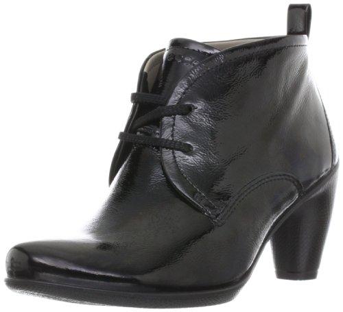 Ecco - Stivali 233533 Donna, Nero (black patent), 2 UK / 35 EU