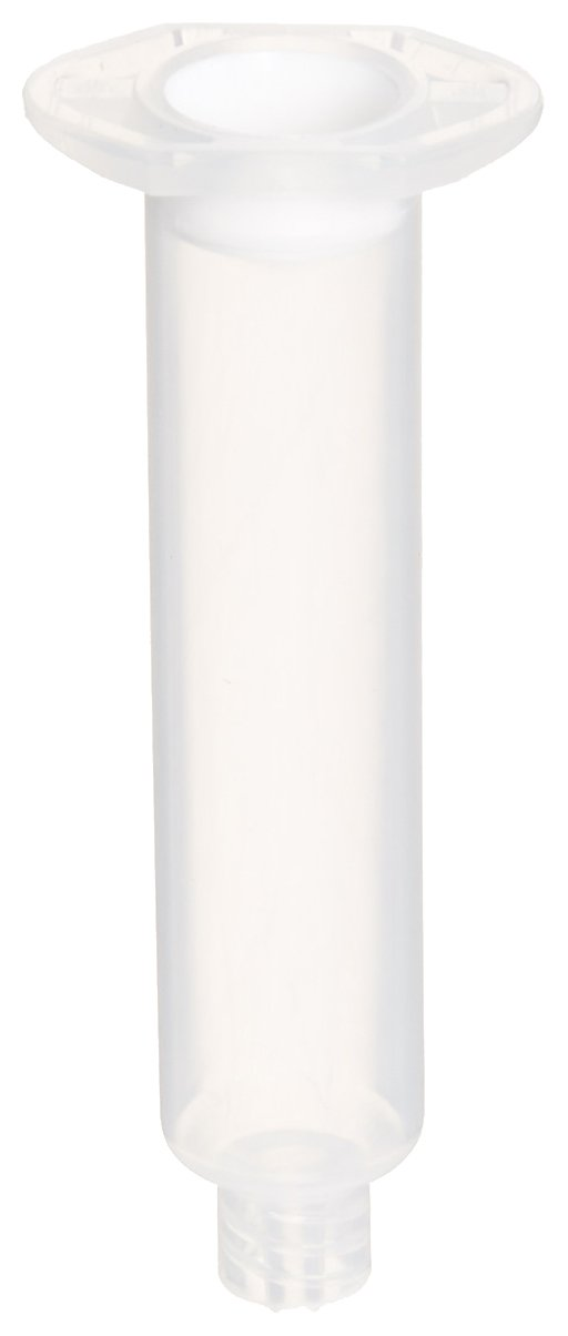 Metcal 910-NW Fluid Dispensing Syringe Barrel Natural with White Wiper Piston, 10cc Size (Pack of 50)