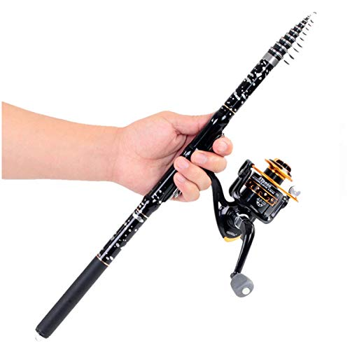 (Fishing Rod Set, Mounting Reel, Single Fishing Rod, Mini Fishing Rod, Suitable For All Kinds Of Small And Medium Fish, Shrimp And Crab, Fiberglass Fishing Rod, Portable Retractable Fishing Rod)