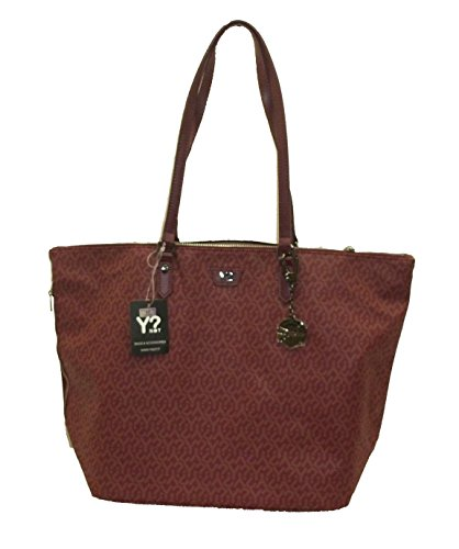 YNOT? GU20 Shopping Bag GRANDE Donna BORDO