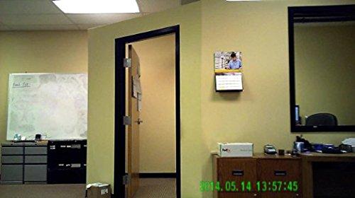 AES Spy Cameras ACRHD 720p Alarm Clock Radio HD Covert Hidden Nanny Camera Spy Gadget (Black)