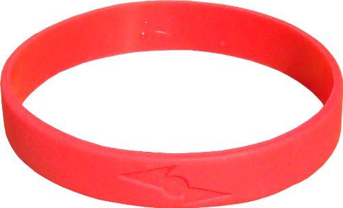Pinnacle Sports Titanium Rubber Band, Red