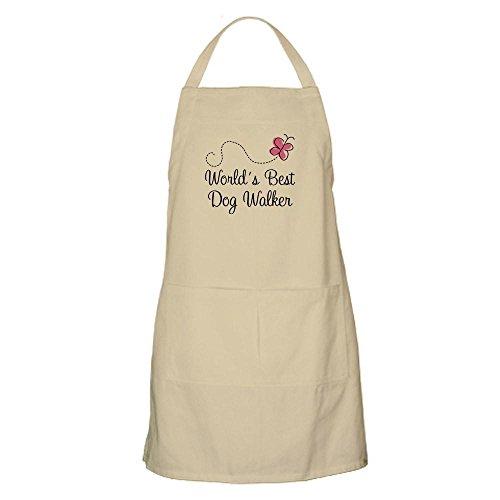 (CafePress Dog Walker (World's Best) Kitchen Apron with Pockets, Grilling Apron, Baking Apron)
