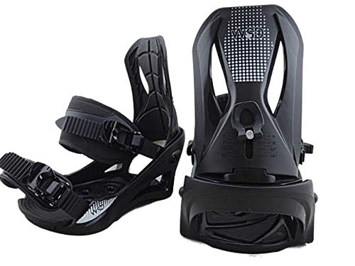 WSD Snowboard bindings Adult Men's Black Pair 2019 Model Pair New