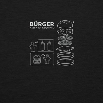 Planet Nerd - Bürger Assembly required - Herren Langarm T-Shirt, Größe S, schwarz