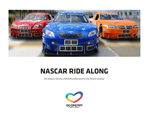 NASCAR Ride Along in Pennsylvania Experience Gift Card New York Area - GO DREAM - Sent in a Gift -