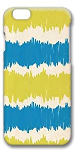 iPhone 6 Case, Hot Sell 4.7inch 3D Slim Protective Case Cover for Apple iPhone 6(4.7 inches)- Blue Yellow Paper