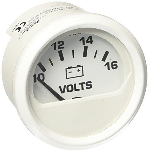 Faria 13120 Voltmeter-White ()