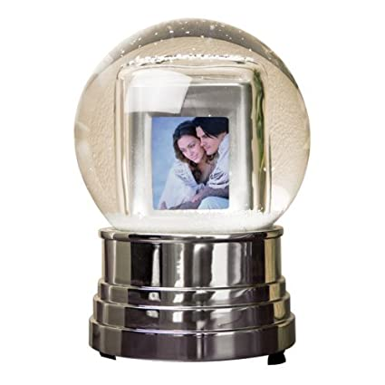 Amazon.com : Pandigital Digital Photo Frame Snow Globe : Digital ...