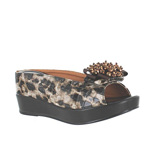 Helen's Leopard Brown 8127 19 Heart r0q61r