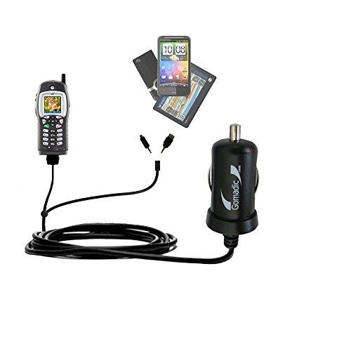 motorola i355. gomadic dual dc vehicle auto mini charger designed for the motorola i355 - uses tipexchange o
