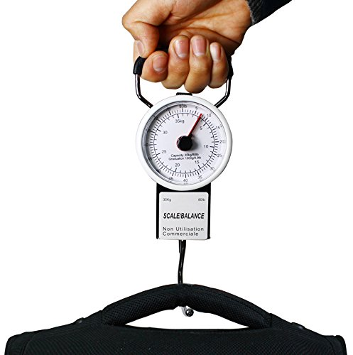 Smartrip Mechanical Hanging Scale with Built in Measuring Tape