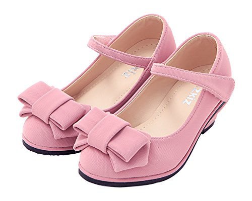 Dress Jane S265 Heels Mary Shoes Low With Girls Ribbon pink Ozkiz Pumps qfBFnUAqx