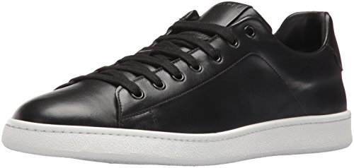 Marc Jacobs Men's Clean Nappa Fashion Sneaker, Black, 46 EU/12 UK/13 M - Jacobs Marc By Marc Uk