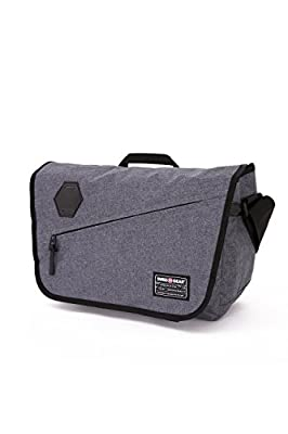 Swiss Gear SA5320 Messenger Bag, Heather Gray by group III