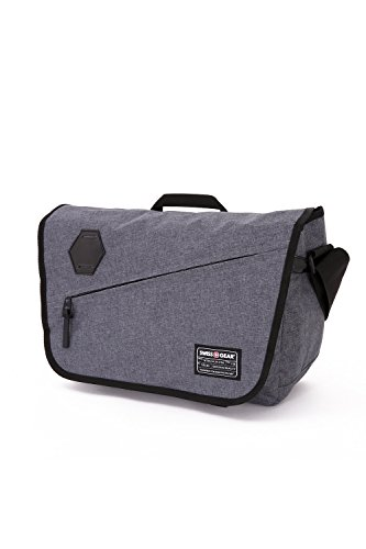 Swiss Gear SA5320 Messenger Bag, Heather Gray