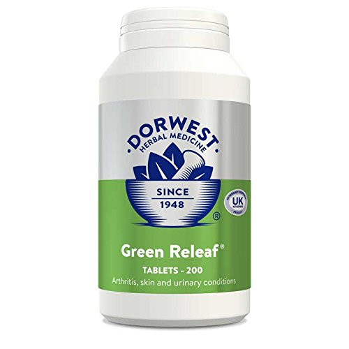 Dorwest Herbs Mixed Vegetable Tablets for Dogs and Cats 200 Tablets
