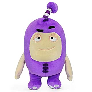 "Oddbods Jeff Soft Stuffed Plush Toys — for Boys and Girls — Purple (12"" Tall)"
