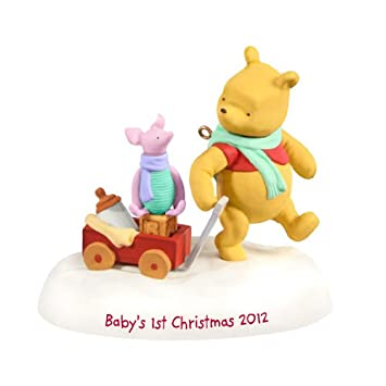 Hallmark Christmas Keepsake - Baby's First Christmas Classic Pooh ...