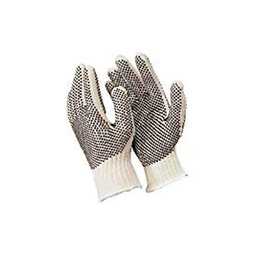 Memphis Gloves Industrial Pair of Glove with PVC Dots on Both Sides, Extra Large (24)