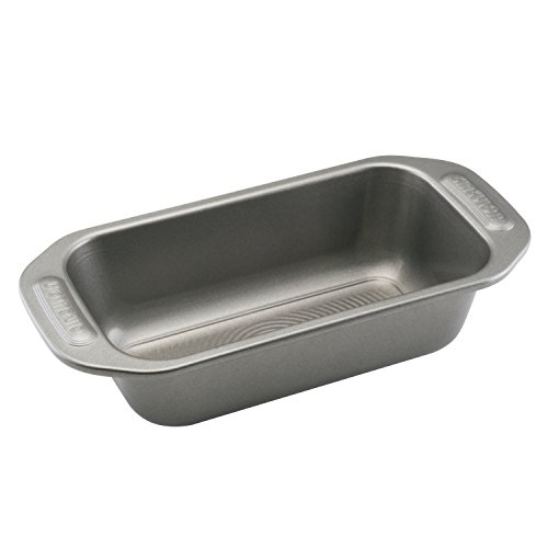 Circulon Nonstick Bakeware 9-Inch x 5-Inch Loaf Pan, Gray ()