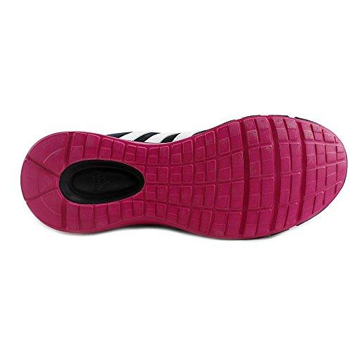 Adidas Turbo 3,1 Kvinnor Rund Tå Syntetiska Sneakers Svart / Vit / Rosa