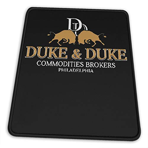 Skrr Trading Places Duke and Duke (1) Mouse Pad Non Slip Computer Keyboard Mouse Mat Comfortable10 X 12 Inch