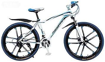HYCy Bicicleta De Montaña Bicicleta,PVC Y Todos Los Pedales De ...