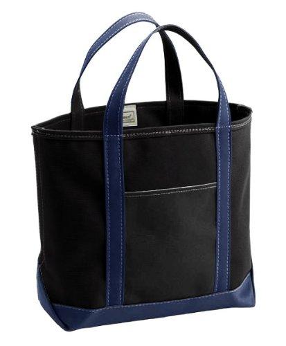 295e27f2422b Amazon | (エルエルビーン) LL Bean Custom Tote Bag Medium Black/Navy ...