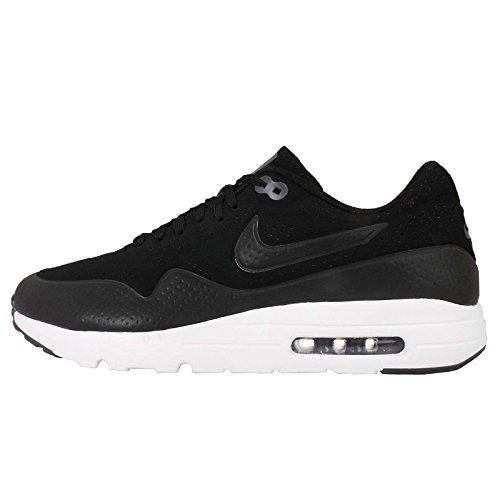 Nike Men's Air Max 1 Ultra Moire, BLACK/BLACK-DARK GREY-WHITE, 9 M US