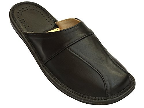 Mens House Slippers | Finest Leather | 28 (9)