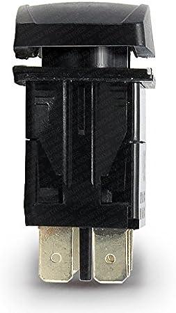 CH4x4 Rocker Switch CB Radio Symbol Amber LED