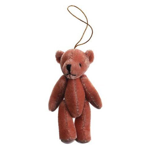 Bulk Buy: Darice DIY Crafts Bear with Gold String Hanger Bro