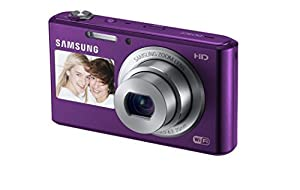 Samsung EC-DV150FBPBUS 16.2MP Smart Digital Camera with 5.0x Optical Image Stabilized Zoom with 2.7-Inch LCD Screen