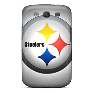 MarieFrancePitre Samsung Galaxy S3 Protector Hard Phone Covers Unique Design Attractive Pittsburgh Steelers Series [Xjv5199DOZb]